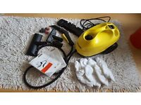 KARCHER Steam Cleaner SC3 - hardly used EXCELLENT CONDITION + NEW tools & cloths