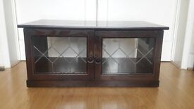 TV DISPLAY UNIT WITH GLASS DOORS ONLY £55!!!