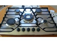 Hotpoint 5 Burner 70cm Gas Hob (Electronic Ignition)