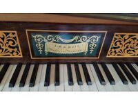 Square Piano C.1820. Made by Mott of London