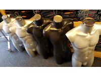 selection of mannequins £10.00 each