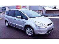 FORD S MAX 1.8 DIESEL.FULl FORD SERVICE HISTORY