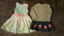 2-3years Peppa pig dresses
