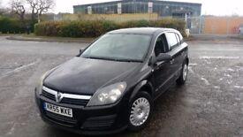 2006 (55 reg) Vauxhall Astra 1.3 CDTi 16v Life 5dr Hatchback MOT'D TILL 20/4/2018 FOR £595