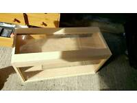 Good condition wood show case for shop or home