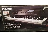 For sale casio ctk 7200 new plus box