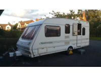 2002 Abbey Expression 500L Touring Caravan with Electric Movers