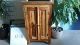 Drinks cabinet, solid wood