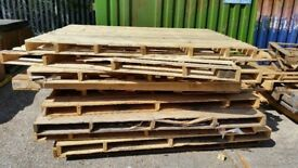 Free Over Size Pallets, Good For Fire Wood, Decking, Fences or Arts and Crafts