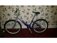 Girls light weight frame bike