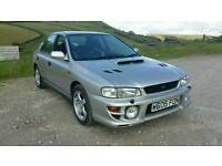 Subaru impreza uk turbo 2000 106k £2400 ono full service history