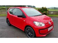 *!*BARGAIN*!* 2013 VOLKSWAGEN TAKE UP 1 LITRE **FULL YEARS MOT** **£20 A YEAR ROAD TAX**