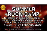 Summer Rock Camp | Music Camp In Leeds