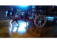 china horse and wagon