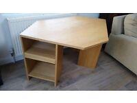 John Lewis Oak Corner Desk