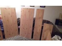 Pine effect furniture board