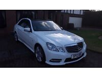 Mercedes Benz E 350 CDI Sport AMG Line Auto. Outstanding example, one careful lady driver since new.