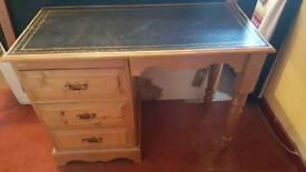 3 drawer Wooden desk