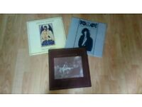 3 x 12 inch - ghost dance ( goth ) - river of no return / heart full of soul / grip of love