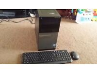 Dell i7-2600 Quad Core 3.4GHz, 16GB DDR3 RAM, 500GB HD, Wifi, Office 2013, Wireless Key Mouse, Win10