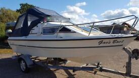 16ft 2 Berth Sport/Fishing Boat