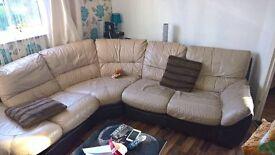 leather sofa £170