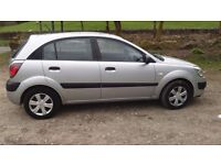 kia rio gs 1.5 diesel 2007 new mot very economical to drive and own with chain drive