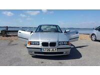 Cherished 318i automatic convertible inc hard top.