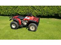Honda big red quad 4x4