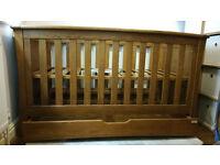 Gorgeous 3 piece Mamas and Papas Nursery Set - Walnut Ocean Range