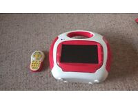 Portable Kids DVD Player With Remote - £15
