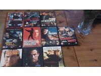 STEVEN SEAGAL DVDS