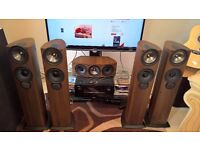 KEF iQ50 IQ60c Speakers