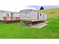 Atlas Everglade (1998) 28 x 10 2 Bed Holiday Home sited at blackadder holiday park Greenlaw