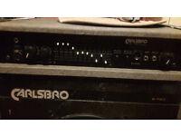 Guitar, Keyboard, Microphone Combi Amplifier Carlsbro B-150 series B-115c (300watt)