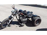Trike 250cc V-Twin 4 stroke
