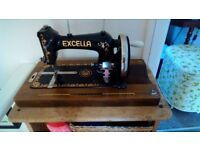 Vintage Excella Sewing Machine