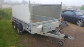 Ifor williams cage double trailer Gd106m
