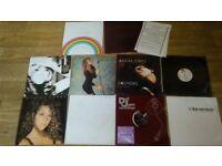 10 x mariah carey vinyl collection LP/ 12 inch / promo's