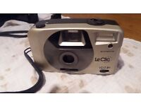 Circa 1980/90's LeClic LC17 BV Flash 350 film roll camera