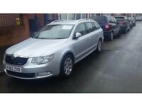 skoda superb greenline 2013..full leather seats, heated seats, full electrics, FSH