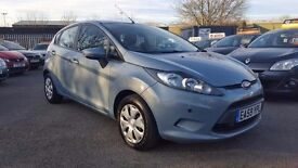 FORD FIESTA 1.6 TDCI ECONETIC 5 DOOR 2010 / ROAD TAX FREE / 80K MILES / SERVICE HISTORY / HPI CLEAR
