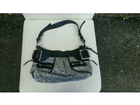 Used DKNY small shoulder handbag