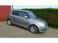 2009 SUZUKI SWIFT 1.3 DDIS TURBO DIESEL 5 DOOR GREY 104k S HISTORY 4 MONTHS MOT £30 YR TAX