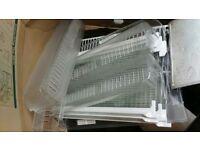 Set of boxes, shelves for beko 70cm-wide fridge-freezer