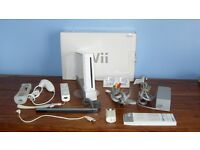 WII Console, Boxed, with Controller and Accessories