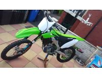 Kawasaki kxf 250 2016 very low hours