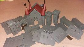 Slot together fort castle