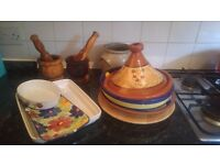 Various kitchen items for sale