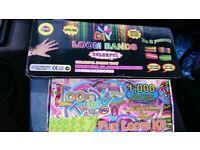 100 BOXES OF LOOM BANDS- RRP £1000!! JOB LOT BULK STOCK WHOLESALE